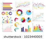 set elements of infographics.... | Shutterstock .eps vector #1023440005