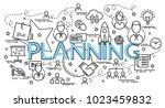 flat colorful design concept... | Shutterstock .eps vector #1023459832