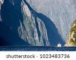 beautiful scenic view of...   Shutterstock . vector #1023483736