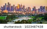 Landscape Of Melbourne City...