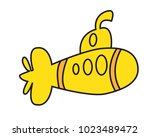 icon boat vector cartoon | Shutterstock .eps vector #1023489472