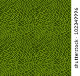 Seamless Pattern Of Green...
