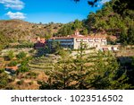 machairas monastery  a historic ... | Shutterstock . vector #1023516502