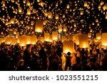 chiang mai  thailand   oct 25 ... | Shutterstock . vector #1023551215