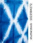Small photo of Background textile indigo fabric.