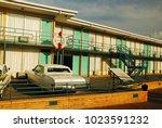 memphis  tn  usa september 3 ... | Shutterstock . vector #1023591232