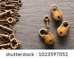 Various Metal Keys And Locks...