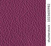 violet leather texture closeup... | Shutterstock . vector #1023600982