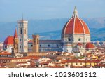 florence cathedral duomo | Shutterstock . vector #1023601312