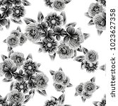 abstract elegance seamless... | Shutterstock .eps vector #1023627358