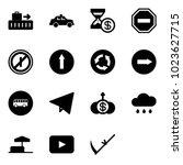 solid vector icon set   baggage ...   Shutterstock .eps vector #1023627715