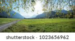 Meadowland At Loisach Valley ...