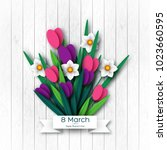 March 8 Greeting Card For...