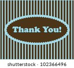 thank you   thank you text in... | Shutterstock .eps vector #102366496