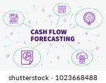 conceptual business... | Shutterstock . vector #1023668488