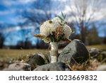 beautiful wedding bouquet | Shutterstock . vector #1023669832