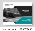 business brochure design ... | Shutterstock .eps vector #1023672436