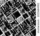 abstract grunge grid stripe... | Shutterstock .eps vector #1023684982