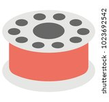 a simple flat vector icon of a ...   Shutterstock .eps vector #1023692542