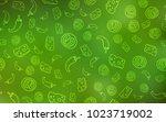 light green vector background...   Shutterstock .eps vector #1023719002