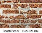 rock wall vintage tone... | Shutterstock . vector #1023721102