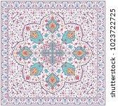 brochure  flyer design  flower... | Shutterstock .eps vector #1023722725
