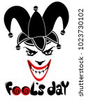 april fools day concept with...   Shutterstock .eps vector #1023730102