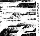 black and white grunge stripe... | Shutterstock .eps vector #1023730882