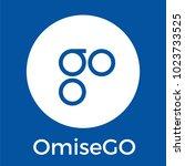 omisego  omg  blockchain...   Shutterstock .eps vector #1023733525