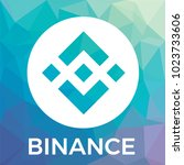 binance  bnb  cryptocurrency...   Shutterstock .eps vector #1023733606
