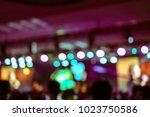 defocused entertainment concert ... | Shutterstock . vector #1023750586