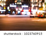 blurred photo  cityscape at... | Shutterstock . vector #1023760915