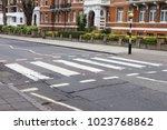 Abbey Road Crossroad  London  Uk