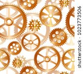abstract mechanical background  ... | Shutterstock .eps vector #1023773506