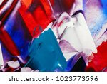 painted abstract background | Shutterstock . vector #1023773596