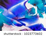painted abstract background | Shutterstock . vector #1023773602