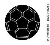 soccer sport ball icon   Shutterstock .eps vector #1023798256