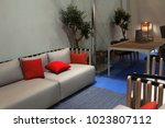 casual style furniture summer... | Shutterstock . vector #1023807112