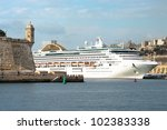 Watchtower And Cruise Ship In...