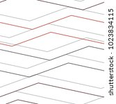 Linear pattern mesh, straight, curve, broken line, seamless vector background.