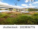 view of beris lake in kedah ... | Shutterstock . vector #1023836776