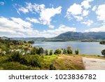 view of beris lake in kedah ... | Shutterstock . vector #1023836782