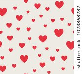 seamless pattern background.... | Shutterstock .eps vector #1023868282