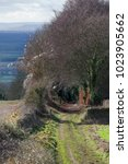 Small photo of Bridleway on Bredon Hill, Worcestershire