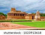durga temple  aihole   bagalkot ... | Shutterstock . vector #1023913618