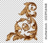 classical baroque vector of... | Shutterstock .eps vector #1023916468