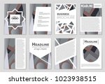 abstract vector layout... | Shutterstock .eps vector #1023938515