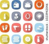 flat vector icon set   purse... | Shutterstock .eps vector #1023942046