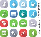 flat vector icon set   cleanser ... | Shutterstock .eps vector #1023947272