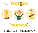 set of  winner tags and badges. ...   Shutterstock .eps vector #1023989992